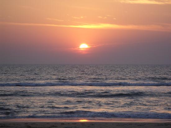 Mobor Beach sunset