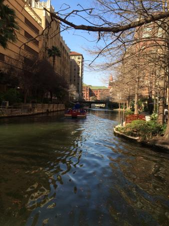 The Westin Riverwalk, San Antonio: Riverwalk behind Westin Hotel