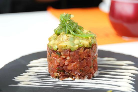 Tuna and avocado - Picture of Calendula tapas, Torremolinos ...