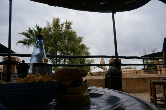 El Fenn Cocktail Bar & Restaurant : Vanaf tafel uitzicht