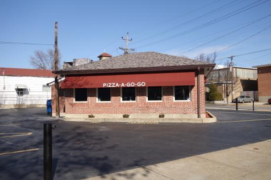 Pizza A Go Go Saint Louis Lindenwood Park Menu Prices