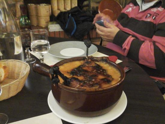 Hotel Restaurant du Lauragais: le cassoulet pour 2