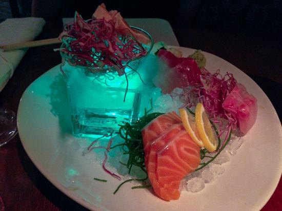 Ambrosia : Sashimi plate. Outstanding presentation and taste.