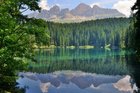 Nova Levante, İtalya: Lago di Carezza (BZ)