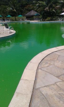Hotel Do Bosque: O que pode ser pior do que estar com a família diante de uma piscina nesse estado!?
