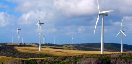 Woolnorth Tours: Wind farm towers