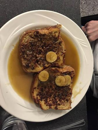 Keys Cafe - Nicollet Avenue: Outstanding pecan crusted french toast
