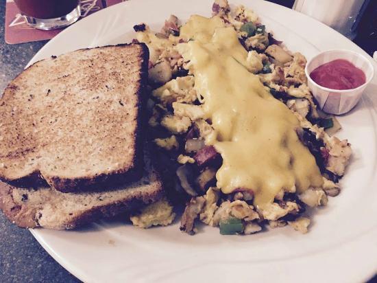 Keys Cafe - Nicollet Avenue: Amazing egg scramble