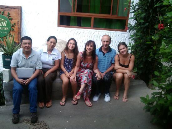 Twin Lodge Galapagos: felices, con los dueños de Eco Twin