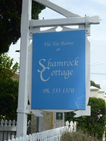 Shamrock Cottage: The Sign