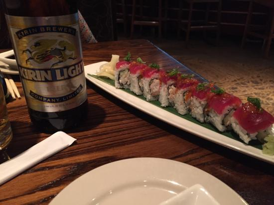 Kona Grill - Baltimore: Habanero Tuna roll
