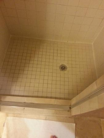 Tunica Roadhouse Casino & Hotel: grout is nasty in shower