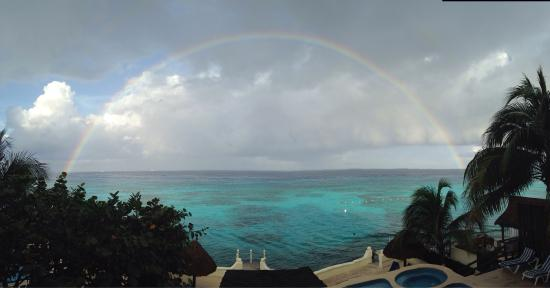 Cantamar Condominiums: Somewhere under the rainbow is Cantamar 201