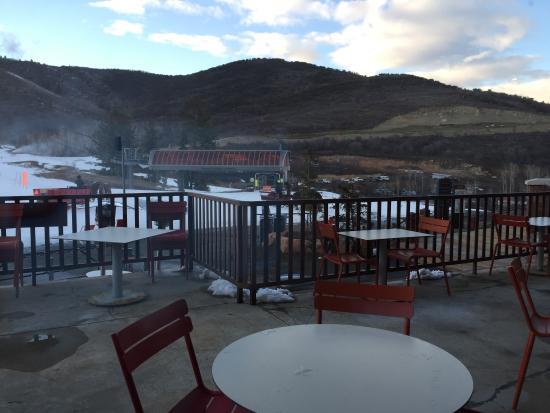 Canyons Village at Park City : View from red tail grill