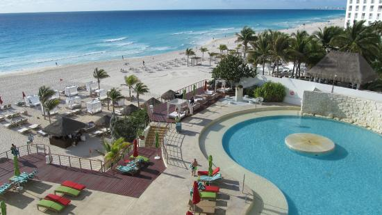 View From Room 516 Picture Of Sunset Royal Beach Resort Cancun