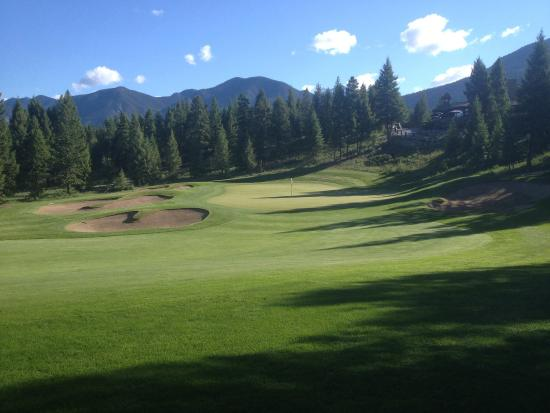 Copper Point Golf Club : #9 on point course