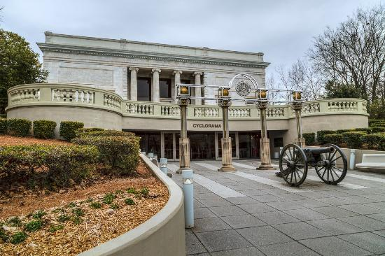 Atlanta Cyclorama & Civil War Museum: Entrance