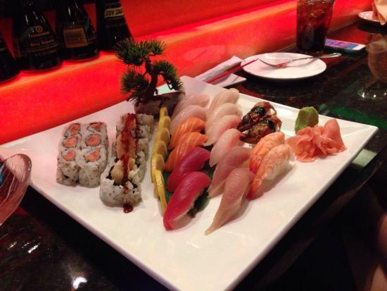 Ichiban Hibachi Steakhouse & Sushi: Sushi for 2..excellent!
