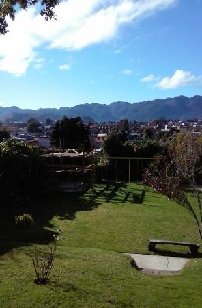 Magnifica terraza con columpios picture of la ceiba - Columpios de terraza ...