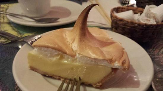 Key lime pie from the fish house key largo bild von for Fish house key largo