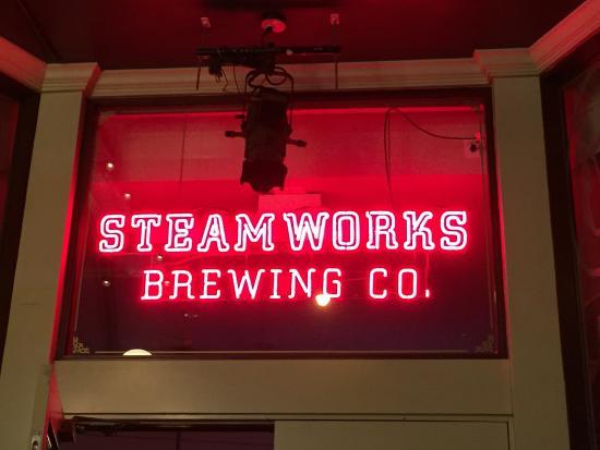 Steamworks Brewing Company: Steam Works.