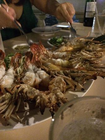 Yok Yor Marina & Restaurant: Nice prawn