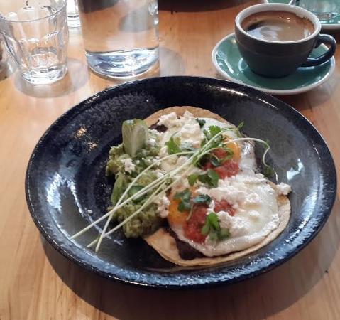 Kerr Street Cafe: Huevos Rancheros!!
