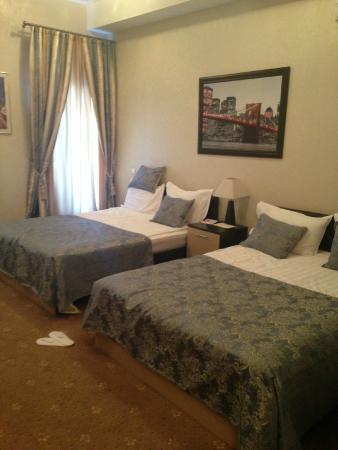 Kamergerskiy Hotel: кровати в номере