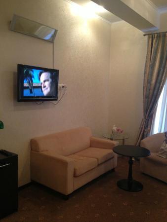 Kamergerskiy Hotel: телевизор