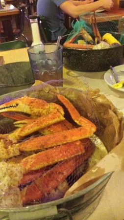 Joe's Crab Shack: Crab deliciously tender