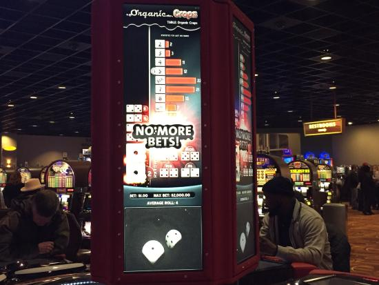 Hoosier Park: Another of the electronic craps machine
