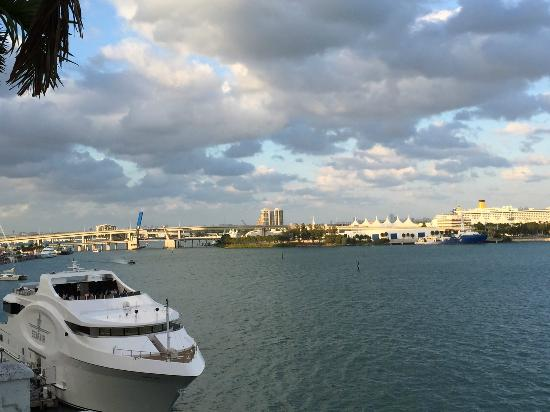 Biscayne Bay view from room