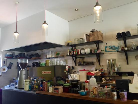 16 Feet Espresso: In the cafe