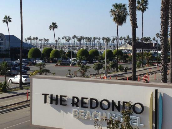 The Redondo Beach Hotel View From Front Deck