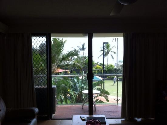 Princess Palm On The Beach Apartments Gold Coast: The view from apt 1D