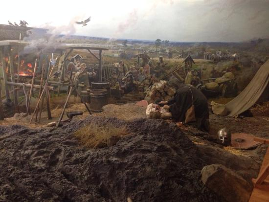 Museum-Diorama Great Standing at Ugra