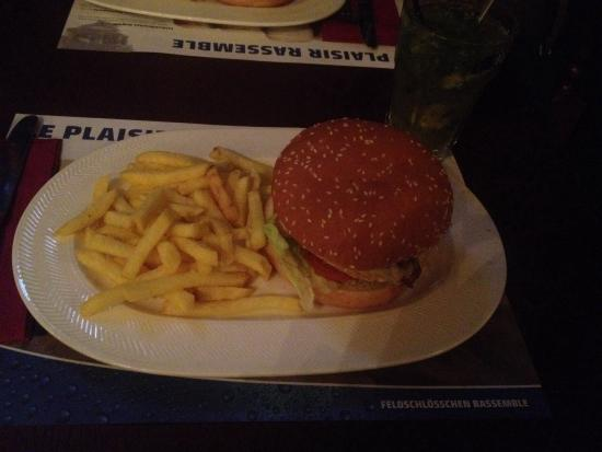 Barrel Oak, The Irish Pub : Burger Classique