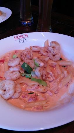 Gosch am Kliff: Thainudeln mit Shrimps