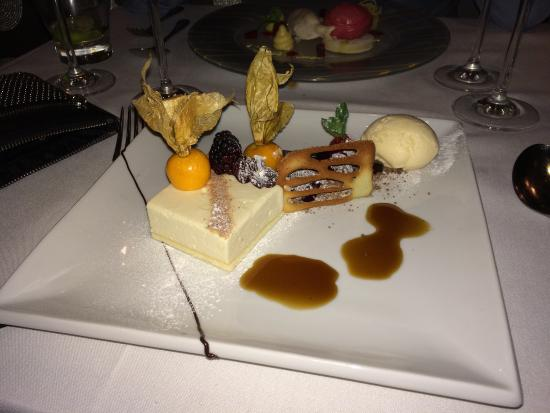 fantastic dessert tonga bean ice cream - picture of the dining