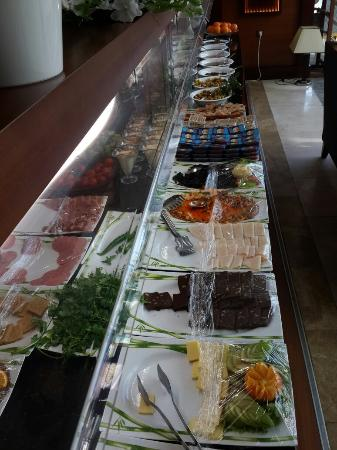 Paradise Island Hotel Bayramoglu: Kahvaltı