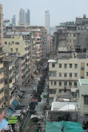 Tin Tong backpacker: View from rooftop