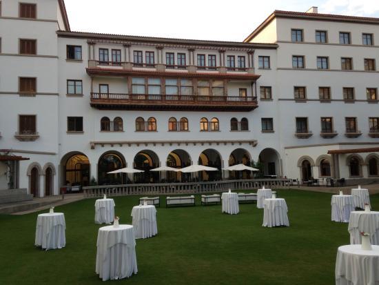 IBEROSTAR Grand Hotel Mencey: Back View