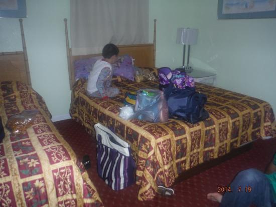 Aqua View Motel: Bed