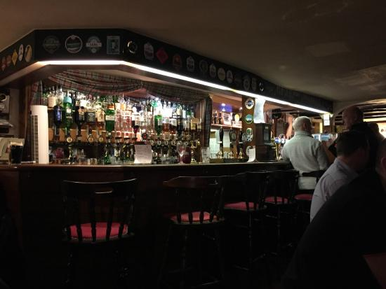Bar at The Railway Inn