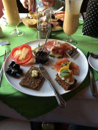 Dronning Louise : Brunch