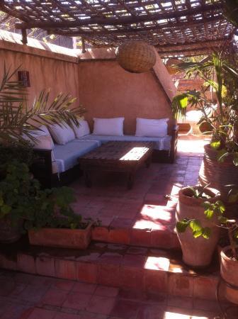 Dar Rbaa Laroub: Un petit coin de La terrasse de rêve