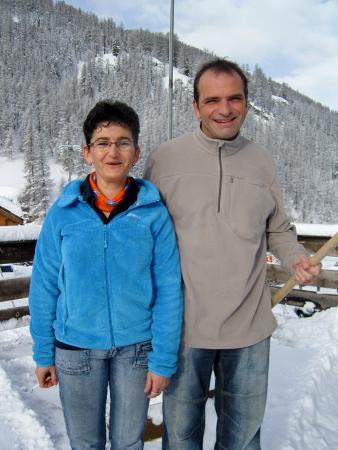 Hotel Restaurant l'Equipe: Patricia et Philippe, les patrons de l'Equipe