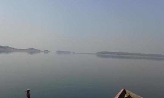 Mukutmanipur, Индия: Kangsabati River
