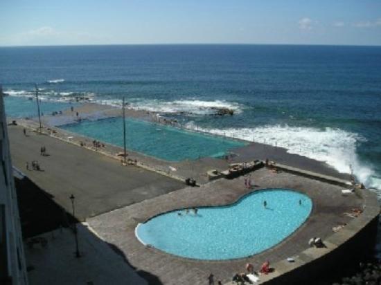 Imagen de la piscina infantil piscina natural castillo de for Piscinas naturales tenerife sur