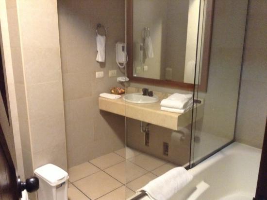 Andina Luxury: shower room